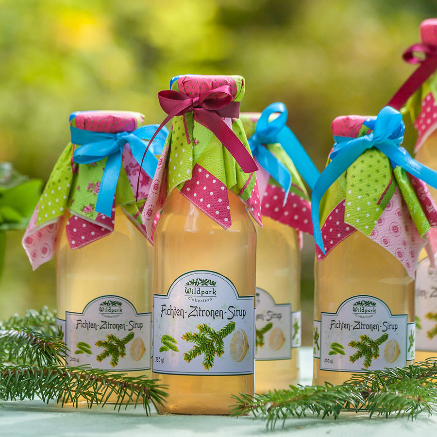 Fichten-Zitronen Sirup (350 ml)