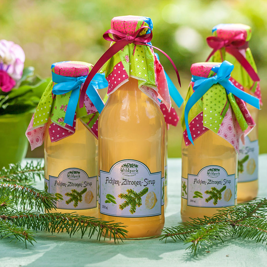 Fichten-Zitronen Sirup (500 ml)
