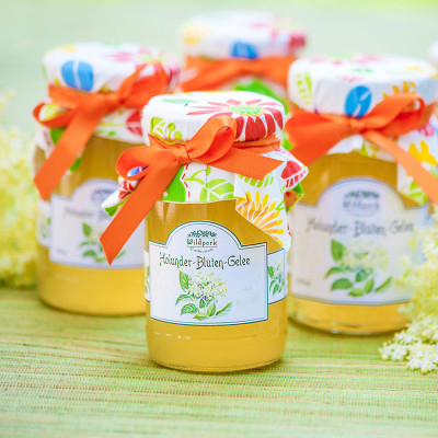 Holunder-Blüten Gelee (250 ml)