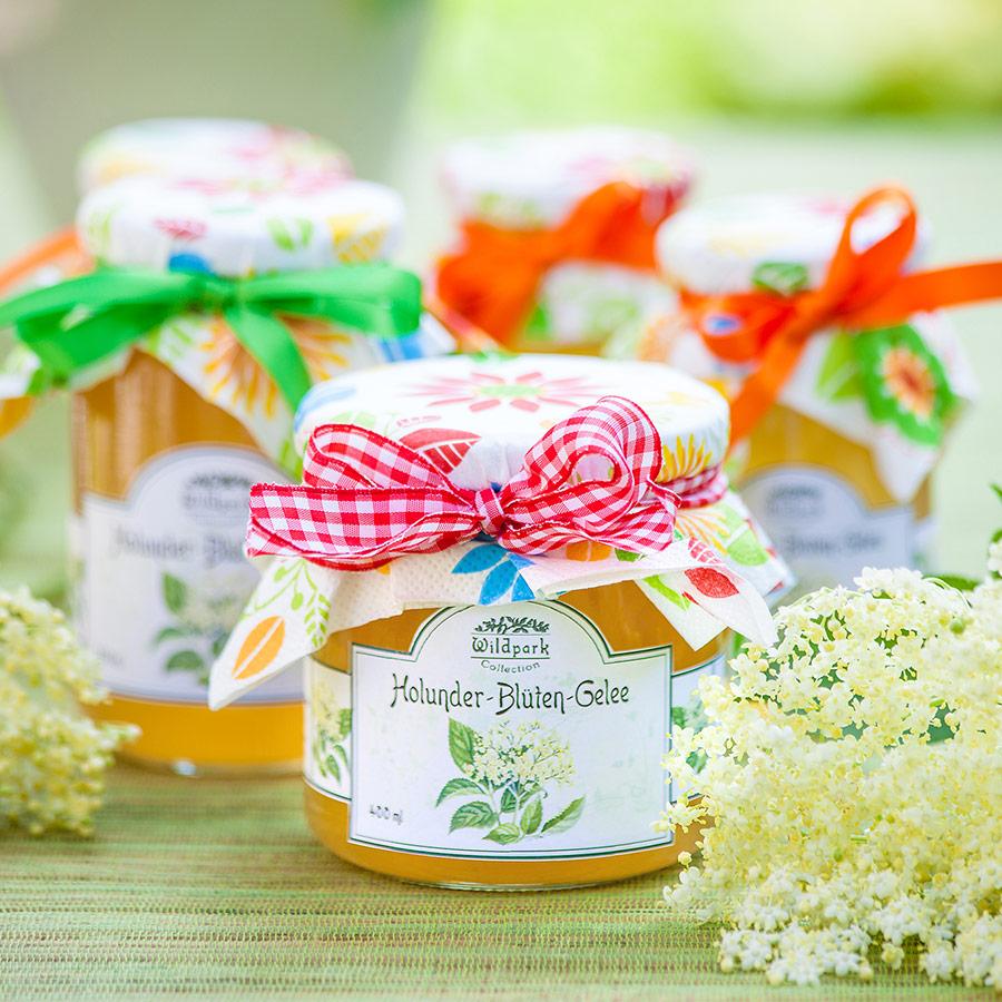 Holunder-Blüten Gelee (400 ml)