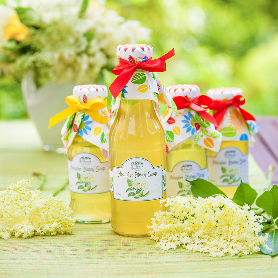 Holunder-Blüten Sirup (500 ml)