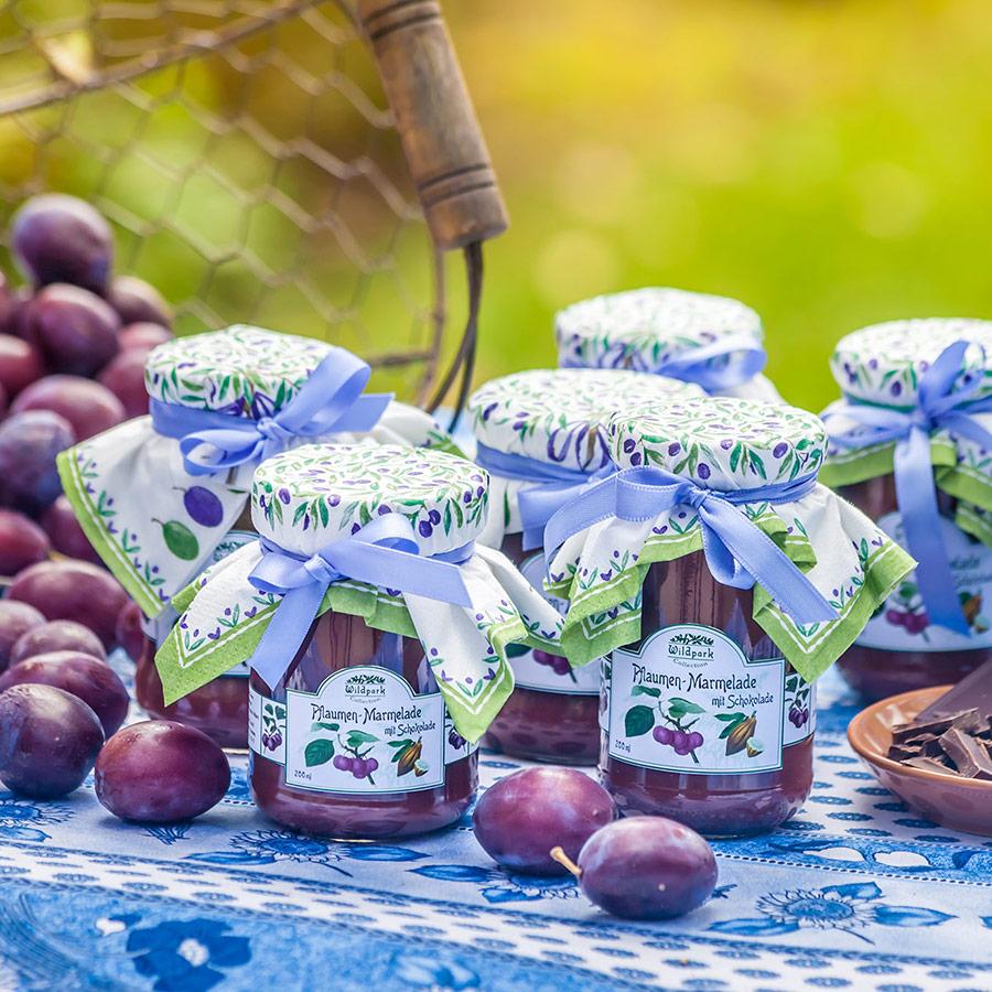 Pflaumen-Schoko-Marmelade (200 ml)