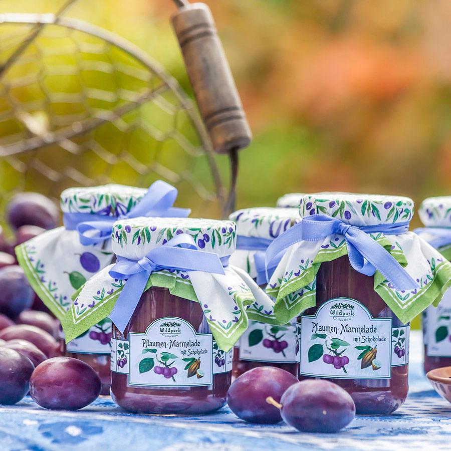 Pflaumen-Schoko-Marmelade (350 ml)