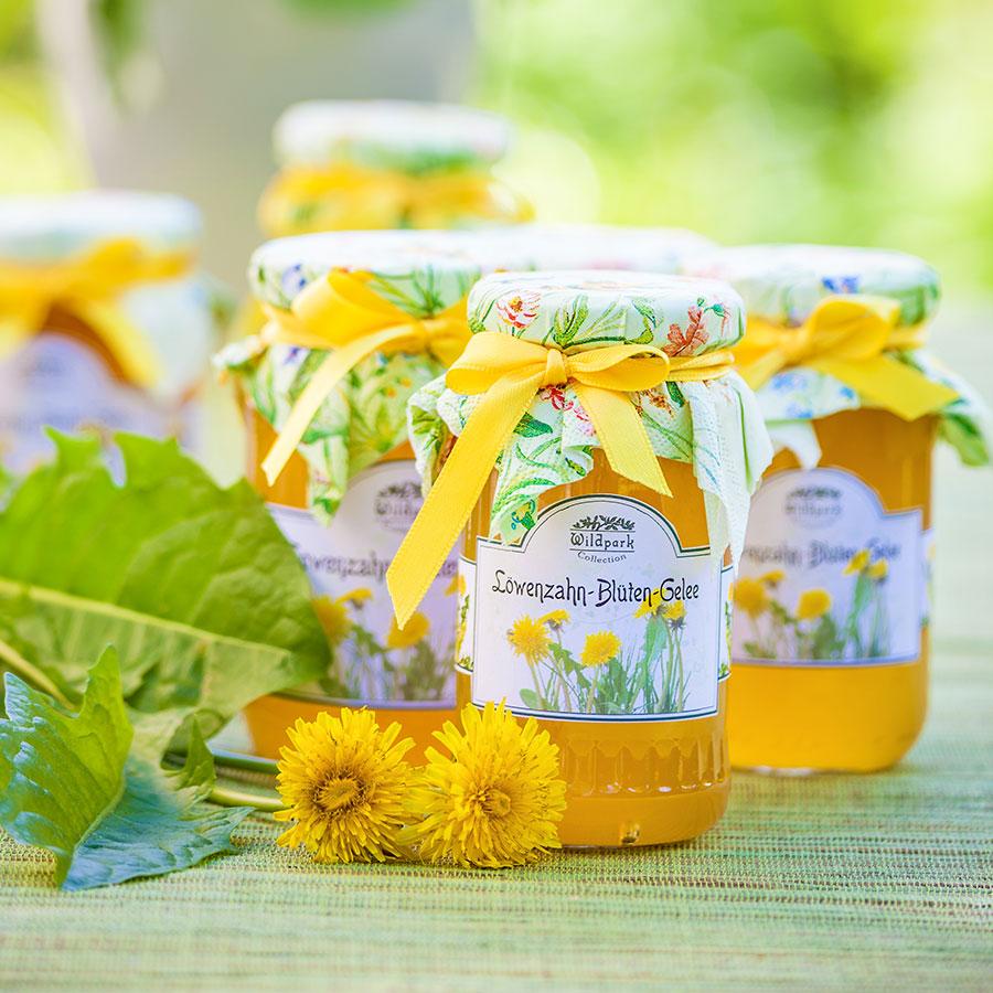 Löwenzahn-Blüten-Gelee