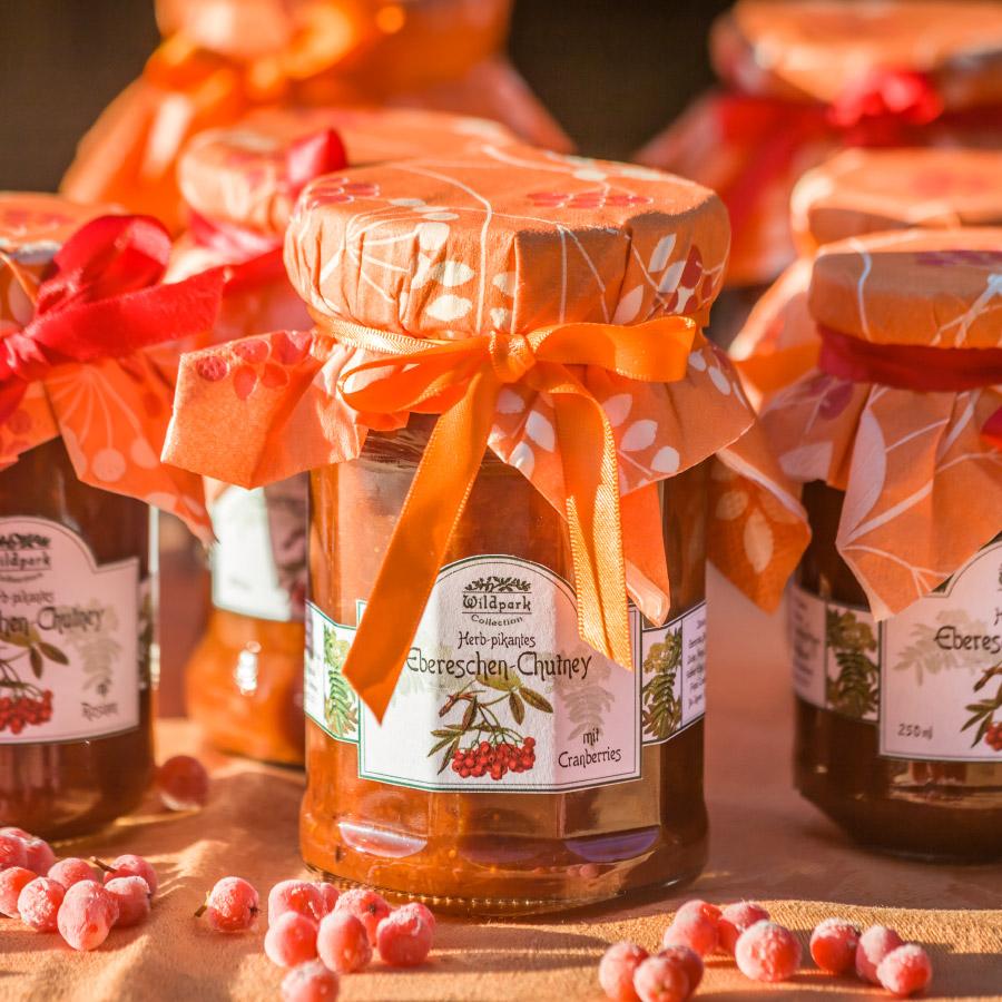 Ebereschen-Chutney mit Cranberries