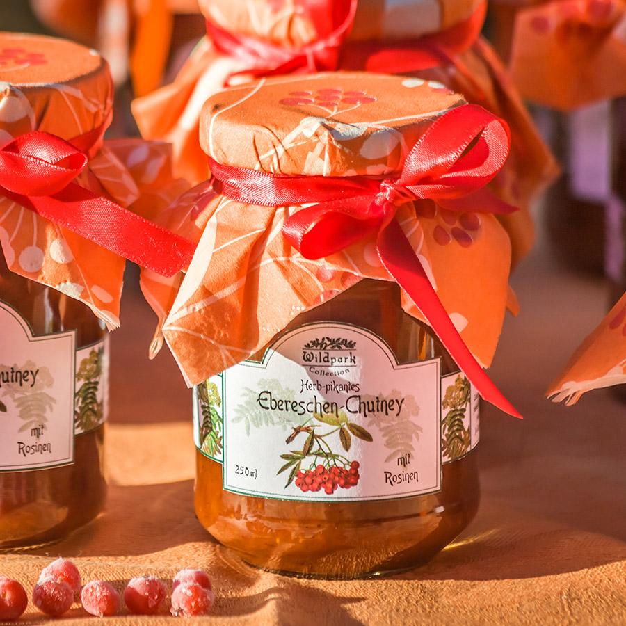 Ebereschen-Chutney mit Rosinen (250 ml)