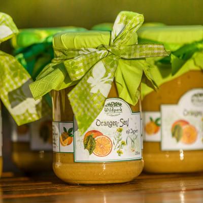 Orangen-Senf mit Ingwer (200 ml)